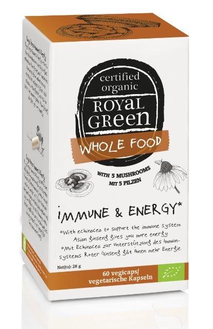 Immune & Energy Royal Green