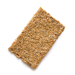 Biobites Raw Food Lijnzaad Crackers Rozemarijn 2st - BIO