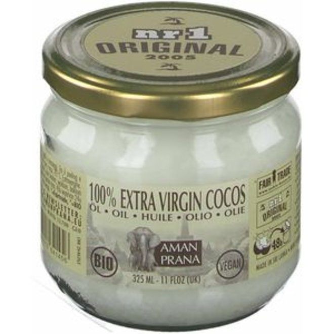 Kokosolie biologisch & extra Vierge - 325ml - BIO