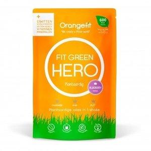 Orangefit Fit Green Hero Blueberry - met zoetstoffen uit stevia - 150g