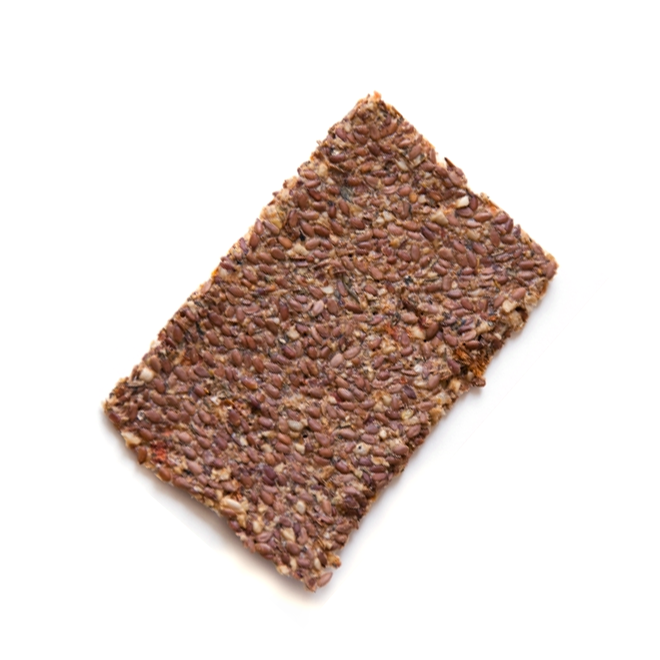Lijnzaad Crackers Italian - (6st) 90g - BIO