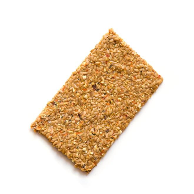 Lijnzaad Crackers Indian - (6st) 90g - BIO