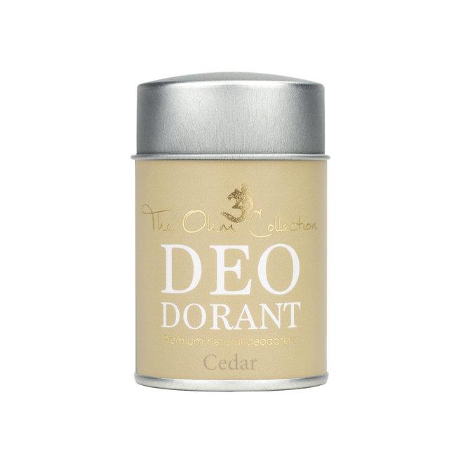 Deodorant Poeder - Cedar - 50g