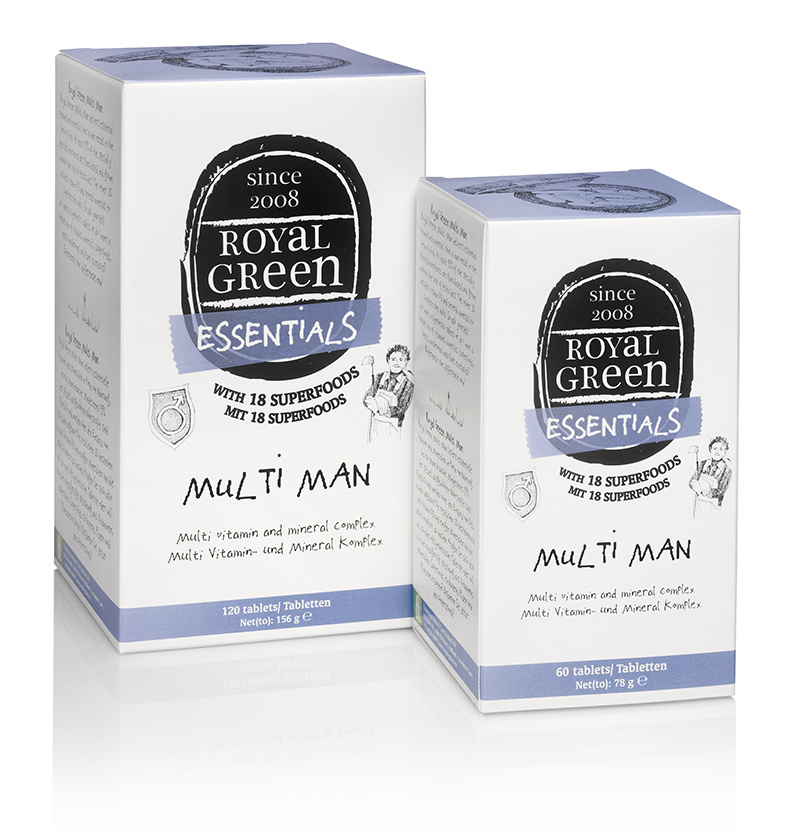 Royal Green Multi Man Multivitamine