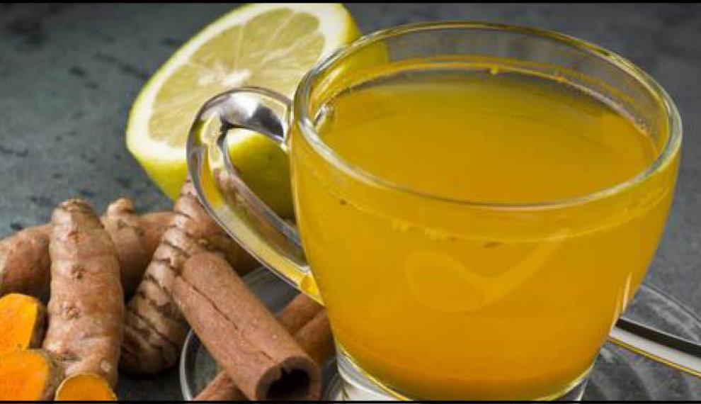 Kurkuma thee maken