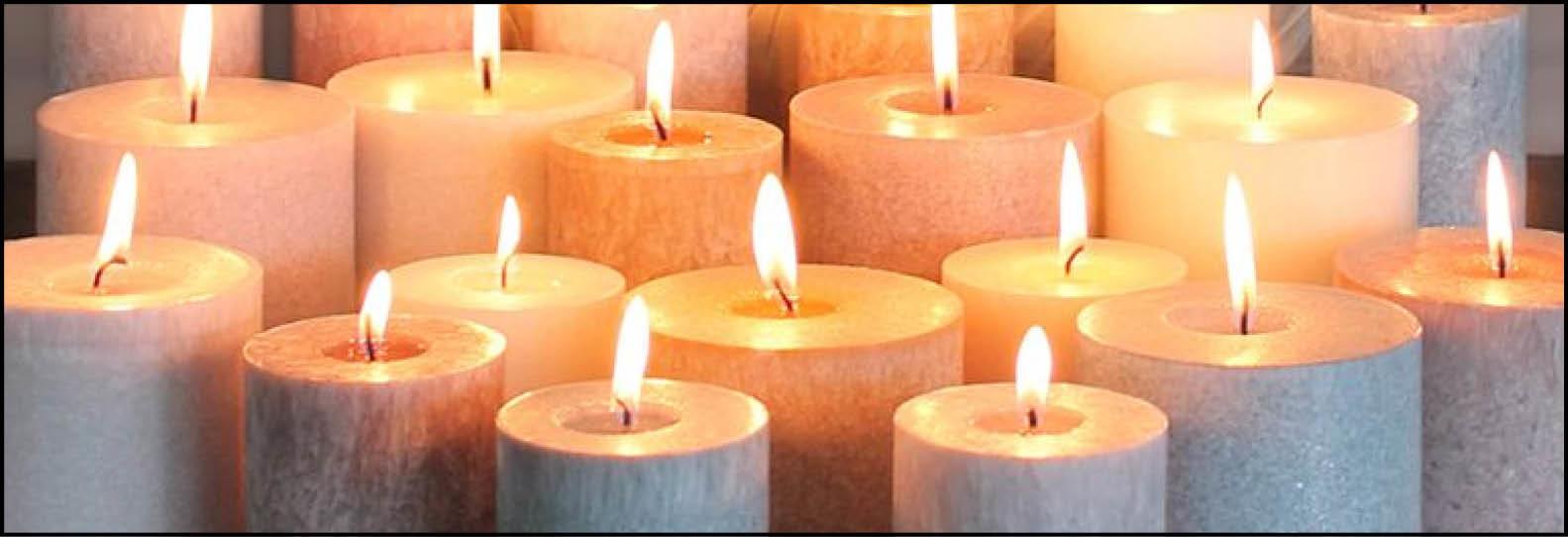 Kaarsen branden, is dat wel zo gezond?