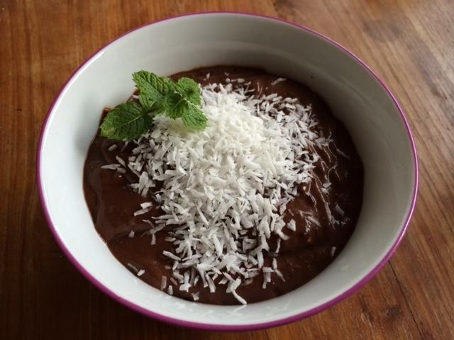Gezonde Chocolademousse met avocado