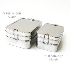 ECOlunchbox Three-In-One Lunchtrommel - Giant