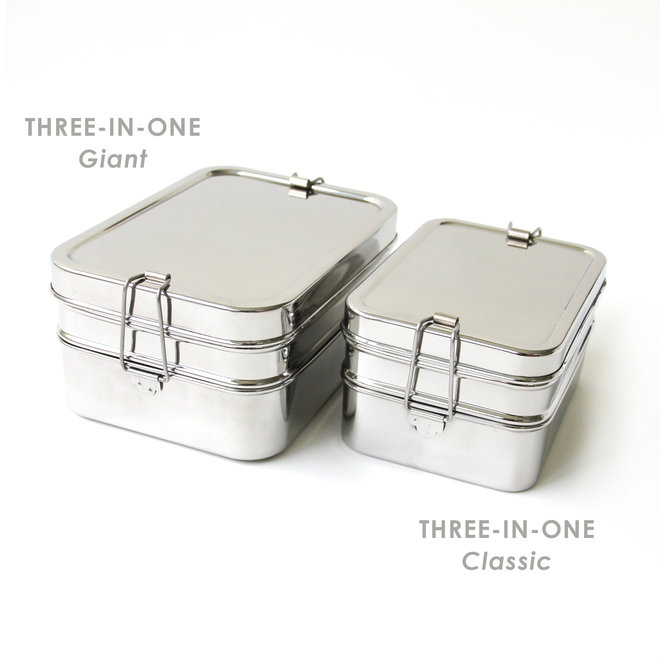 Three-In-One Lunchtrommel - Giant