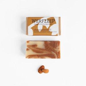 Werfzeep Chocoladeswirl Biologische Zeep - 100gr