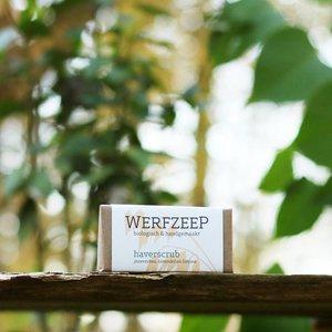 Werfzeep  Haverscrub Biologisch / Werfzeep Scrub 100gr