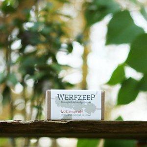 Werfzeep Koffiescrub Biologisch / Werfzeep Scrub 100gr