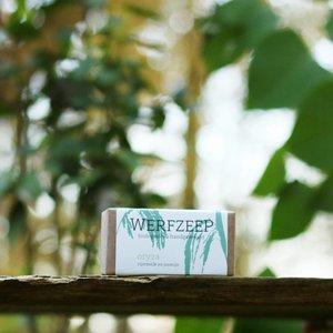 Werfzeep Oryza - Biologische Zeep 100gr