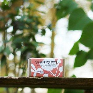 Werfzeep Rozenzeep - 100gr Biologische Zeep