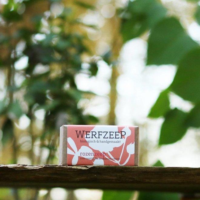 Rozenzeep - 100gr Biologische Zeep