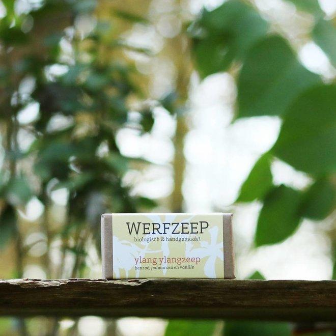 Ylang Ylangzeep 100 gr Biologische Zeep