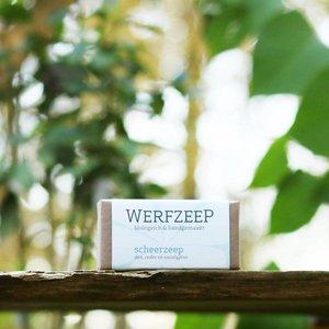 Werfzeep  Scheerzeep - Biologische en Handgemaakt 100 gr