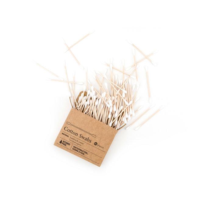 Bamboe wattenstaafjes - bio-katoen - 100st