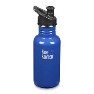Klean Kanteen RVS Bidon / Drinkfles - Classic Sport Cap - Coastal Waters - 532ml