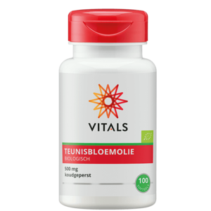 Vitals Teunisbloemolie - 100 softgels - BIO