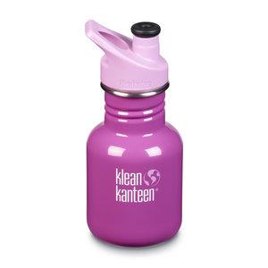 Klean Kanteen RVS drinkfles kind - Bubble Gum/Fuxia - 355ml