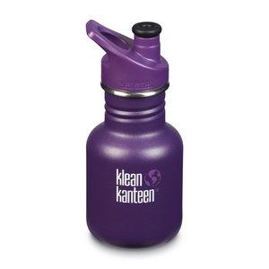 Klean Kanteen RVS drinkfles kind - Grape Jelly Mat - 355ml