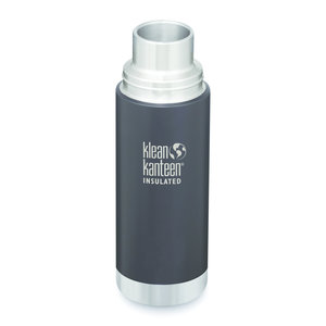 Klean Kanteen RVS thermosfles - Shale Black mat - 500ml