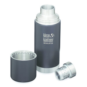 Klean Kanteen RVS thermosfles - Shale Black mat - 750ml