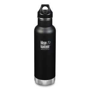 Klean Kanteen RVS thermosfles - Loop Cap - Shale Black - 592ml