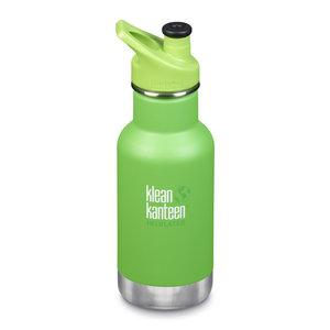 Klean Kanteen RVS thermosfles - Green Sport Cap - Lizard Tail Green - 355ml