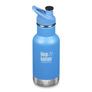 Klean Kanteen RVS thermosfles - Blue Sport Cap - Pool Party - 355ml
