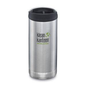 Klean Kanteen Thermosbeker lekvrij - Brushed Stainless Steel - 355ml