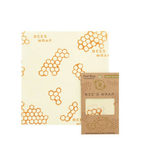 Bee's Wrap Medium Wrap - 25 x 27,5 cm - Single