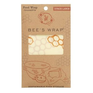 Bee's Wrap Large Wrap - 33 x 35 cm - 3-pack