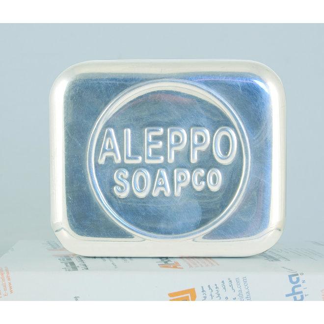 Aluminium zeepbakje - 9 x 7,5 x 6cm