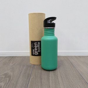 One Green Bottle Touch Canteen - Emerald Green - met Quench cap - 500ml