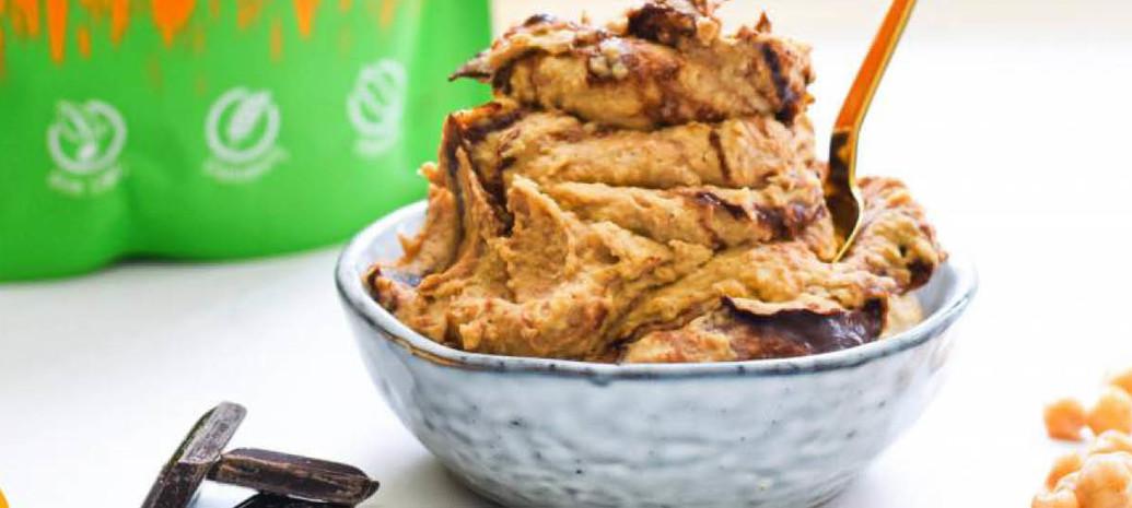 Eiwitrijke vegan cookie dough