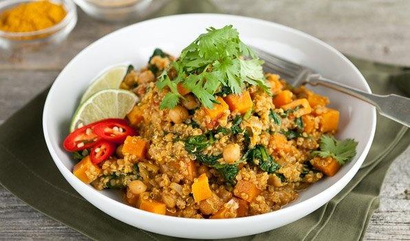 Quinoa Kurkuma Curry