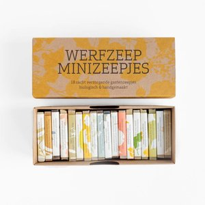 Werfzeep Cadeauset - 18 mini zeepjes