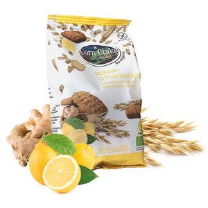 Corn Crake Haverkoekjes met Gember-Citroen - 150g - BIO