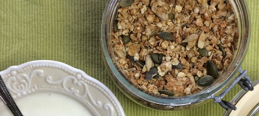 Koolhydraatarme Muesli met Quinoa en Honing