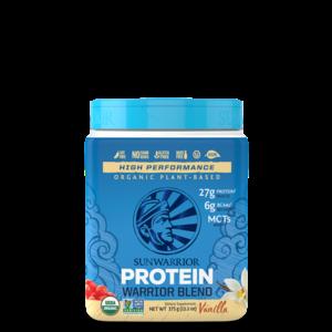 Sunwarrior Warrior Blend Proteïne Vanille - 375g - BIO