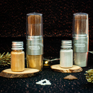 Namaki Cosmetics Magical Brush met zilveren glitters - BIO