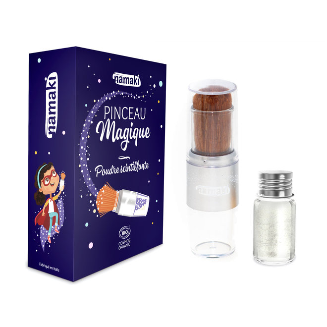 Magical Brush met zilveren glitters - BIO