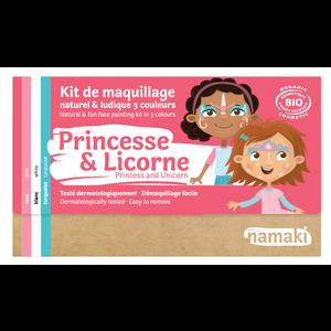 Namaki Cosmetics Schminkset Prinses en Unicorn - BIO