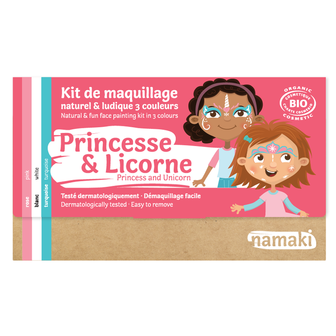 Schminkset Prinses en Unicorn - BIO