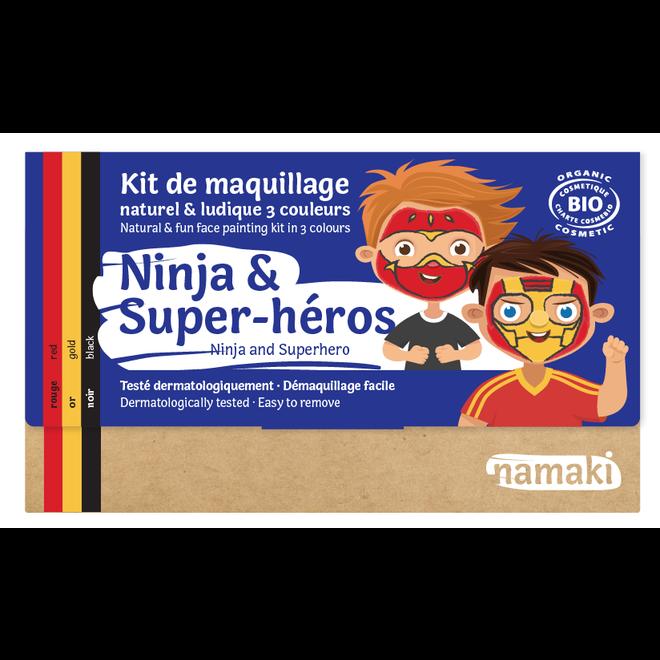 Schminkset Ninja en Superheld - BIO