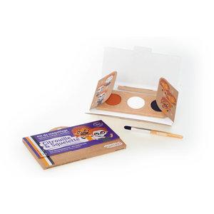 Namaki Cosmetics Schminkset Pompoen en Skelet - BIO