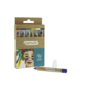 Namaki Cosmetics Schminkkrijtjes - 6 kleuren - BIO