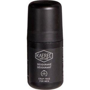 Kaerel Skin Care Deodorant Roller Voor Mannen - 75ml